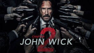 Is John Wick: Chapter Two on Netflix?