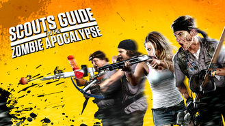 Netflix Box Art for Scouts Guide to the Zombie Apocalypse